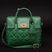 Mulberry-Cara-Delevingne-Quilted-Green-Bag